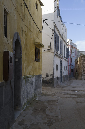 Residential houses at Portuguese City, 19.03.2015.