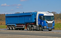 Photo of SCANIA R450 - BANNERMAN Tain