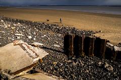 Photo of more Burry beach rubble