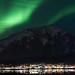 210416 downtown Juneau aurora