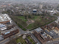 Photo of Norwich aerial image: Chapelfield Gardens