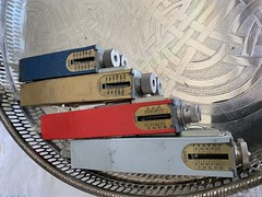 Photo of Four Relay Adjusting Devices