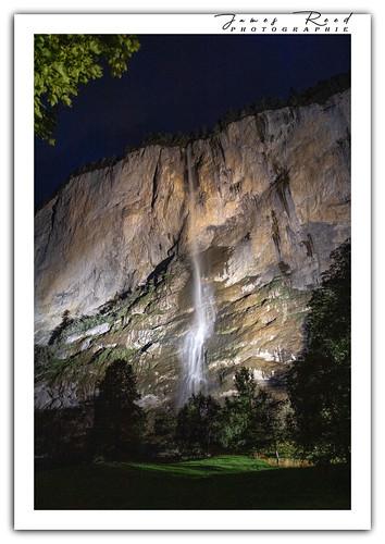 Chutes du Staubbach - Lauterbrunnen - Suisse