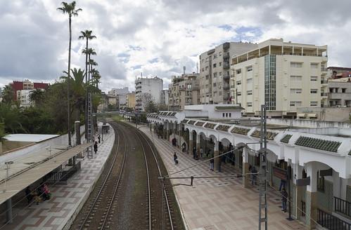 Meknes Al Amir Abdul Kader railway stop, 21.03.2015.