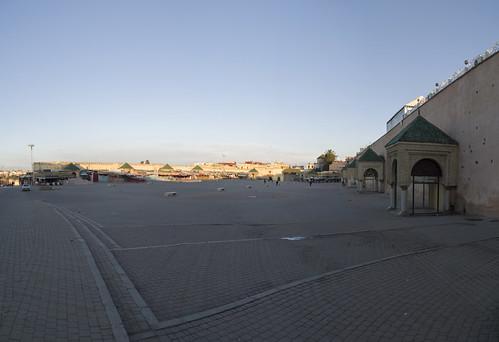 Panorama of El Hedim Square, 21.03.2015.