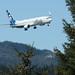 210417 Alaska Airlines jet landing