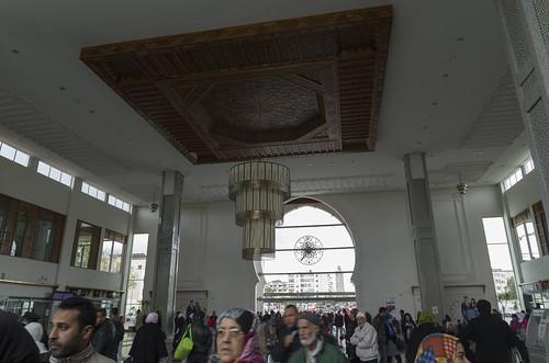 Inside Fes railway station, 21.03.2015.