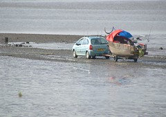 Photo of Car on the beach at Lytham