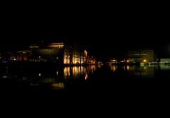 Photo of Gloucester Docks, Night Lights.