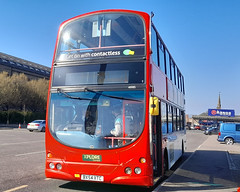 Photo of 4685 - BX54XTC - Xplore Dundee - Volvo B7TL Wright Eclipse Gemini