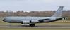 61-0314 USAF Boeing KC-135R Stratotanker RCH831 landing at Prestwick from Al Udeid, Qatar.13/4/21