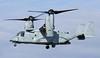 168653 US Marine Corps MV-22B Osprey landing at Prestwick as VORTEX11 from the USS Iwo Jima. 15/4/21