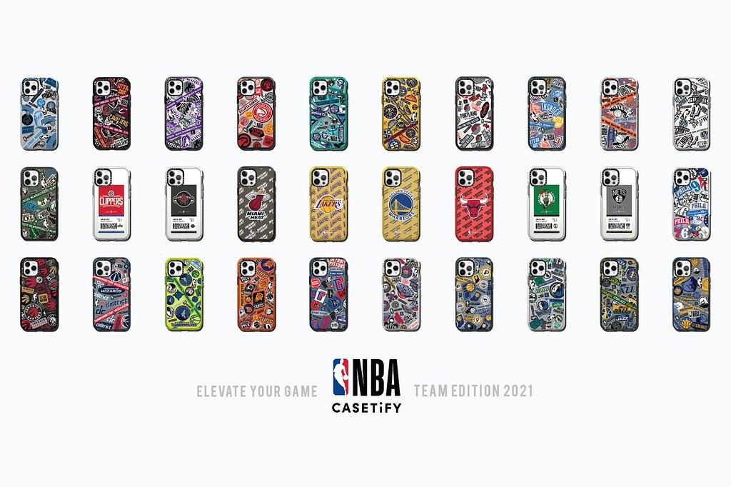 2. 全新 NBA x CASETIFY 聯名系列以 NBA 聯盟全數 30 支球隊為設計靈感,推出一系列豐富電子配件