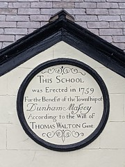 Photo of This School was Erected in 1759