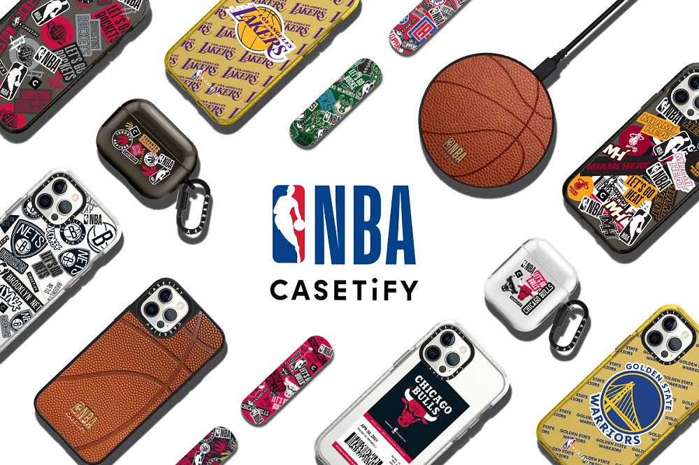 1. NBA x CASETiFY 第二波全新聯名商品 4 月 30 日於 CASETiFY 官網正式發售