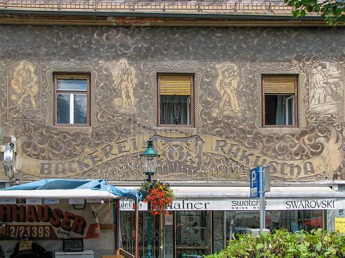 Ornate facade