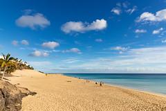 Playa Morro Jable on Fuerteventura, Canary Islands