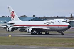 Photo of LX-NCL - Cargolux - Boeing 747-400