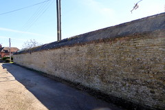 Photo of Circa early 19th century - Garden Walls at Lathbury Park 13Apr21 grade II listed