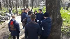 18 апреля 2021, Студенты семинарии приняли участие в субботнике на Успенском кладбище