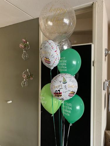 Ballonboeket Verjaardag Rotterdam Ballonnen