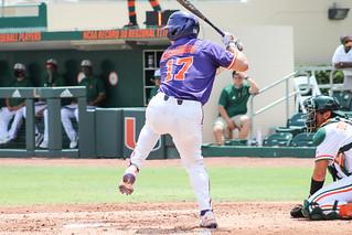 Baseball: Miami 10 Clemson 2 Photos