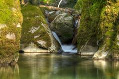 Am Haselbach-Wasserfall