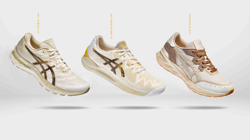 ASICS響應世界地球日推出全新EARTH DAY PACK系列,以回收再製材料使用於該系列鞋款當中,時線對環境永續的承諾 (1)