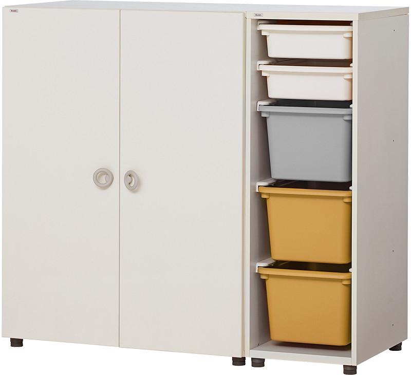 【產品圖】Eddi Kids 1150型 收納衣櫃_「春暖黃」新色-定價:NT$12,280