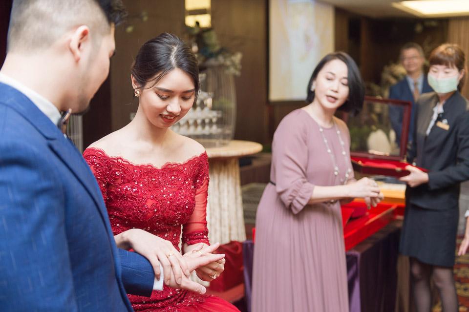 台南婚攝 A&Z 富信大飯店 婚禮紀錄 030