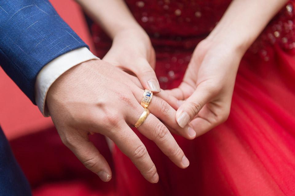 台南婚攝 A&Z 富信大飯店 婚禮紀錄 031