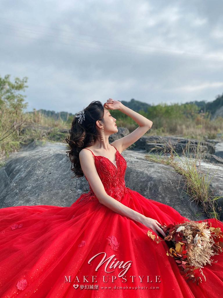 【新秘羽寧】婚紗攝影 / 卓蘭大峽谷