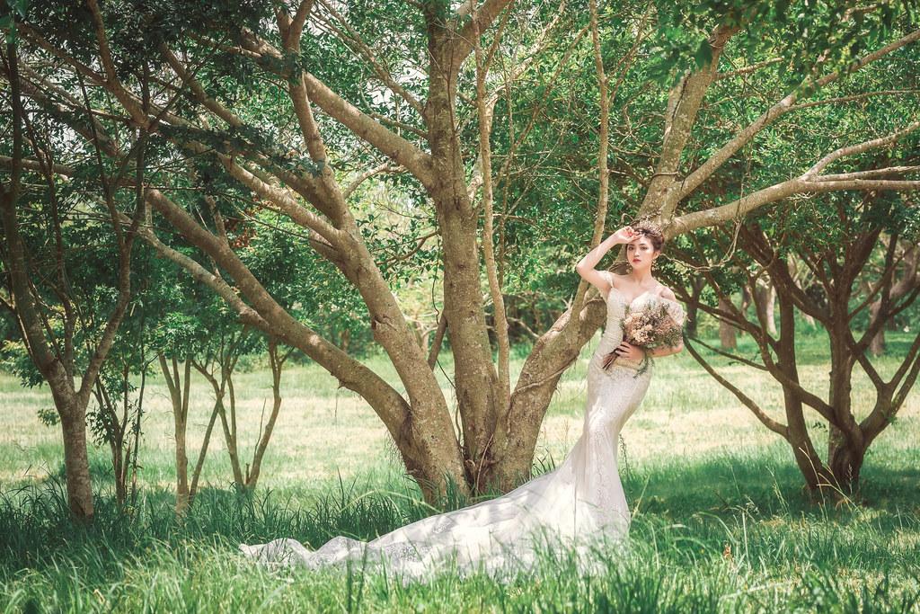 【新秘羽寧】婚紗攝影 / 台中都會公園