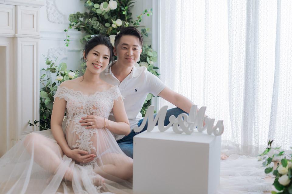 台南孕婦寫真 WU 留下帥氣又美麗的幸福回憶 002