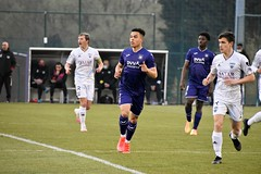 Season 2020-2021: Friendly U21 Anderlecht-Eupen