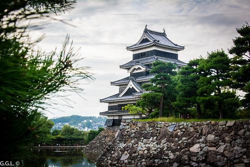 松本城。松本市。それは美しいです。