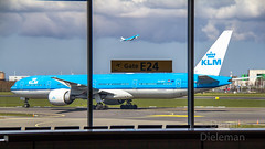 """KLM's departing, seen from the terminal • <a style=""""font-size:0.8em;"""" href=""""http://www.flickr.com/photos/125767964@N08/51129138193/"""" target=""""_blank"""">View on Flickr</a>"""