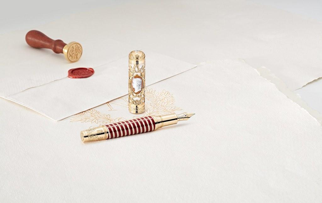 萬寶龍藝術贊助系列向拿破崙·波拿巴致敬限量款8