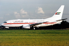 Photo of Dubai Air Wing | Boeing 737-700 BBJ | A6-HRS | London Stansted