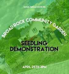 As we prepare to plant things in the ground we figured we'd show you guys how to start some seeds. We have plenty of seeds, dirt, and starter trays.  pull up on usss!! Everyone will be able to take home their new seed babies. 💚🌱:check