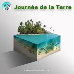 Cube Microworld Journée de la Terre
