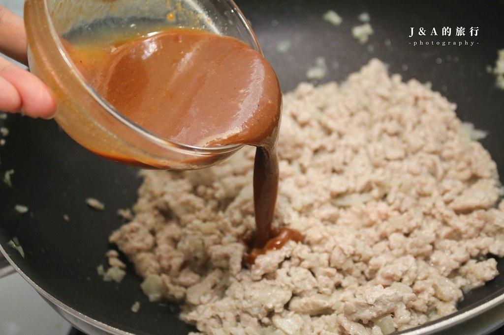 【食譜】肉味噌。超下飯肉味噌,除了拌飯拌麵,還可以炒蛋、炒蔬菜! @J&A的旅行