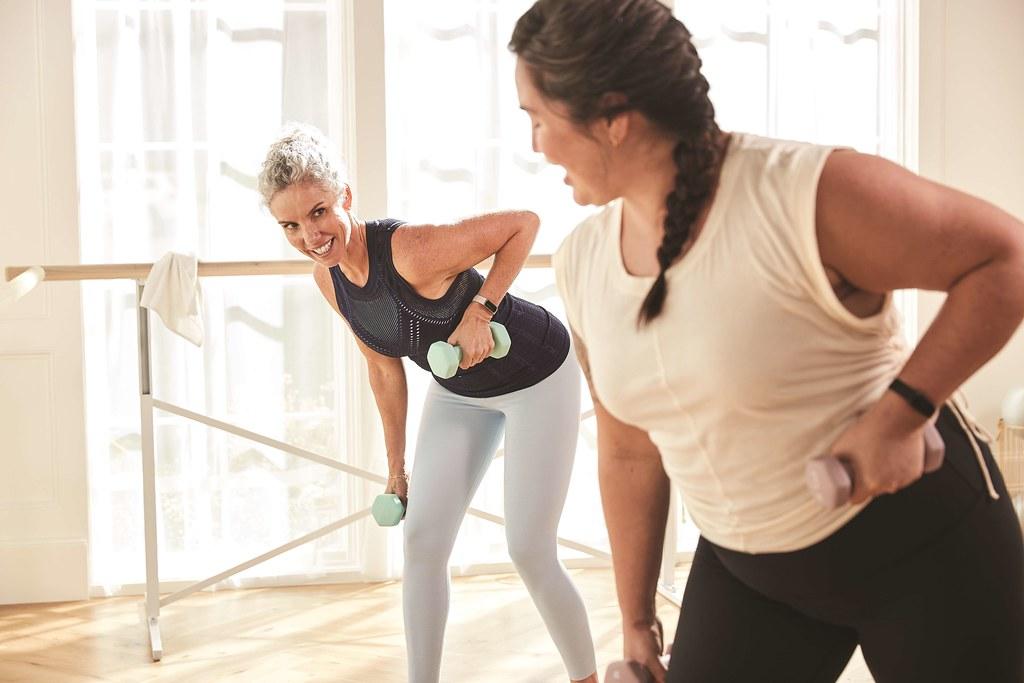 圖7. Luxe 可隨選 20 種以上的運動模式。Premium 會員更可享有超過 200 個由健身教練或網紅提供的指導影片