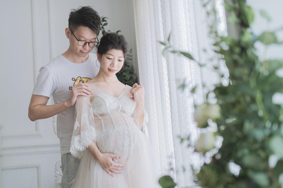 台南孕婦寫真 FISH 甜美又性感的美麗孕媽咪 007