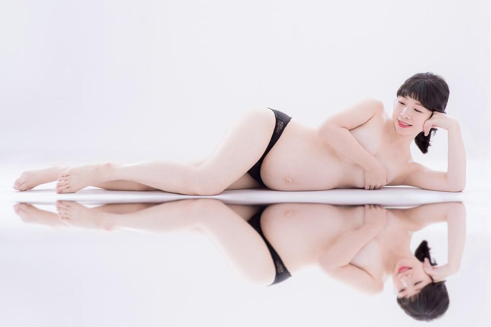 台南孕婦寫真 FISH 甜美又性感的美麗孕媽咪 001