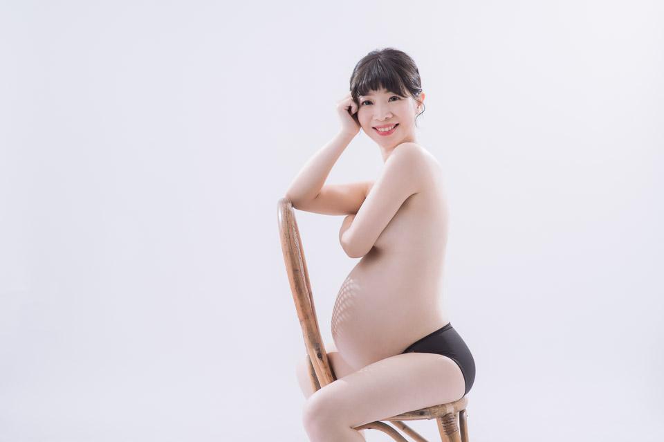 台南孕婦寫真 FISH 甜美又性感的美麗孕媽咪 025