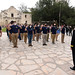 Rear Adm. Theodore LeClair, of Scituate, Mass., deputy director for operations, J-3, U.S. Indo-Pacific Command, administered the oath of enlistment to future Sailors of Navy Talent Acquisition Group (NTAG) San Antonio at the Alamo.