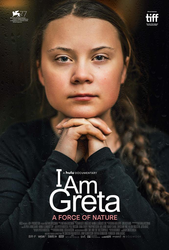 環保少女:格蕾塔_原版海報