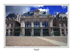 Railway at Saint-Omer station ??  / Gare de Saint-Omer.