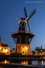 Molen De Adriaan near the river Spaarne in the city of Haarlem. / The Netherlands